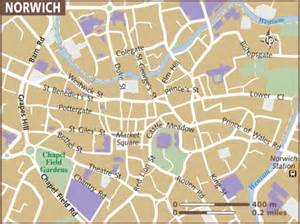 Norwich England Map by Norwich England Map For Pinterest