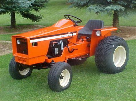allis chalmers garden tractor parts