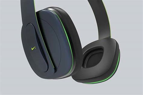 Headset Bluetooth Nike Concept Nike Physical Wireless Headphones With Built In