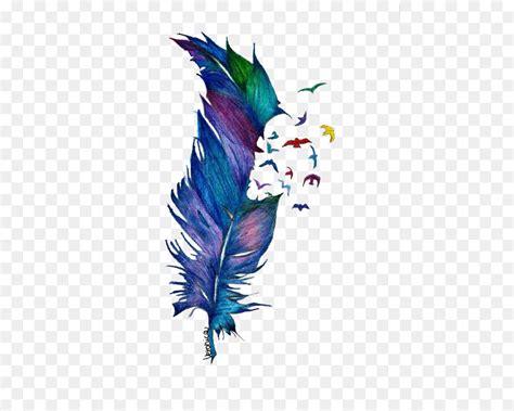 watercolor tattoo schweiz bird drawing feather watercolor painting falling