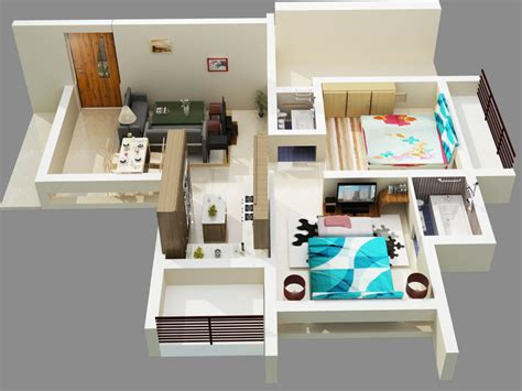 Living Room Bedroom Bathroom Kitchen by Architectures Floor Plans House Home Decor Interior