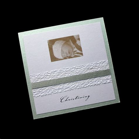 Handmade Christening Invitations - baptism naming day invitations astijano handmade