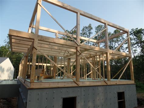 post and beam construction post and beam home construction part 3