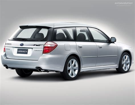all car manuals free 2006 subaru legacy transmission control subaru legacy wagon specs 2006 2007 2008 autoevolution