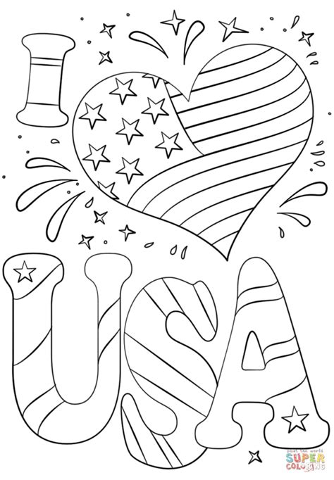 i love usa coloring pages snap cara org