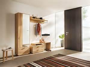 garderobe echtholz moderne garderobenm 246 bel in massivholz anrei