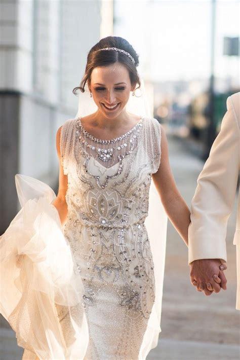 Hochzeit 20er by 1920s Style Wedding Dress Deco Weddings