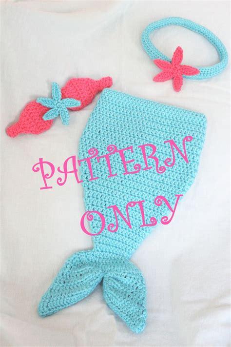 pinterest mermaid pattern pattern crochet mermaid tail with starfish top by