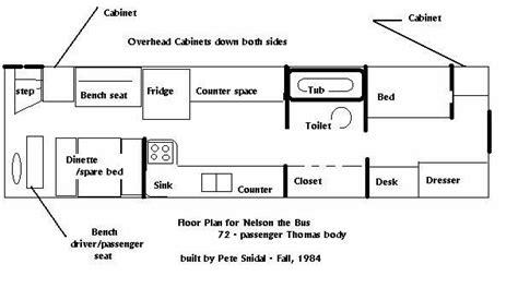 bus conversion floor plans 108 best tiny home images on pinterest cer