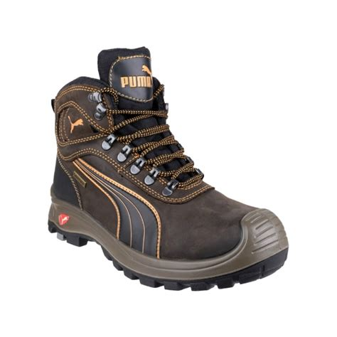 Timberland Nevada Brown safety nevada mid 630220 mens safety shoes