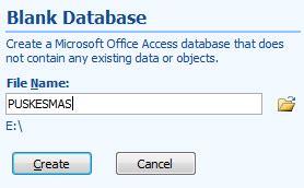 cara membuat database dengan microsoft excel 2013 cara membuat tabel database dengan ms access berbagi