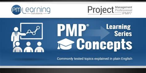 Learning Series pmp concepts learning series pm learning solutions
