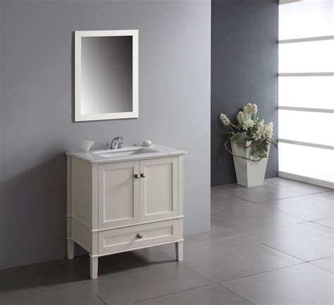 30 inch white bathroom vanity with drawers windham soft white 30 inch bath vanity with 2 doors