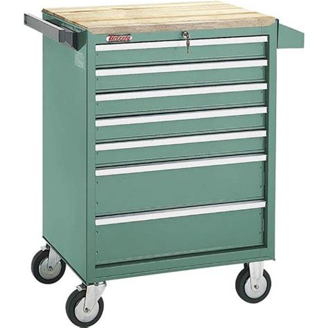 Rolling Drawer Slides 7 Drawer Roll Cabinet W Bearing Slides Grizzly