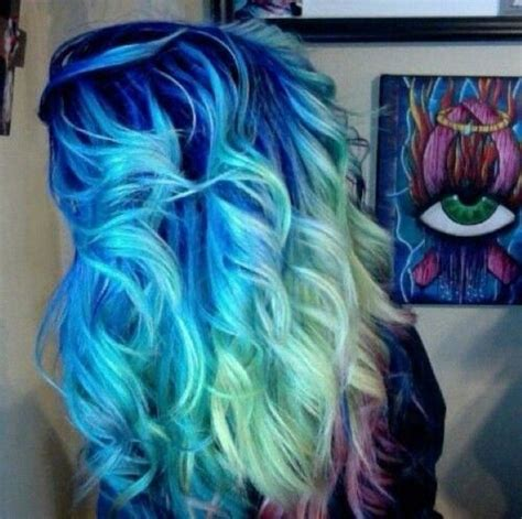 bright color ombre hairstyles get inspirations from bright ombre hair colors women s