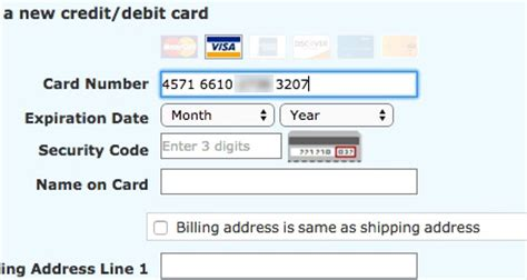 Credit Card Format Input The Credit Card Number Field Must Allow And Auto Format Spaces 80 Don T Articles
