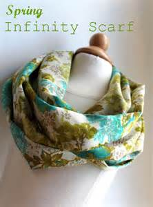 Sew Infinity Scarf Lightweight Infinity Scarf Tutorial The Cottage