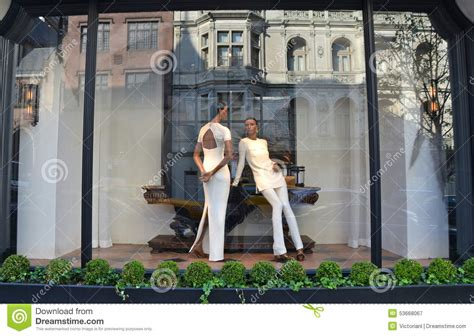 New Window Shopping From Ralph by Spectacular Window Display At Ralph In Nyc Stock