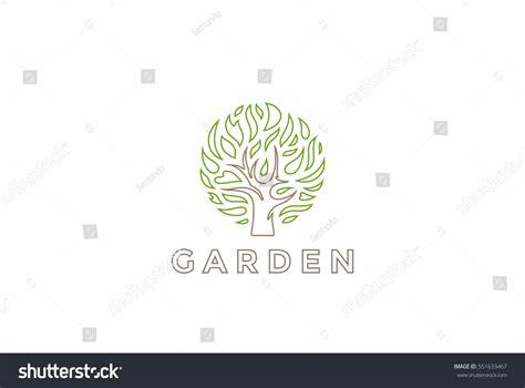 Tree Logo Circle Shape Design Vector Stock Vector 551633467 Shutterstock Green Circle Tree Vector Logo Design Stock Vector 235140895