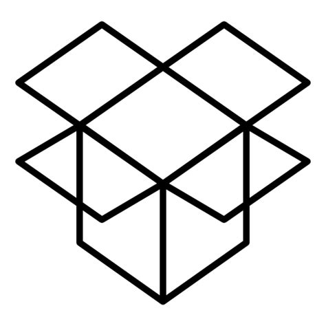 dropbox yellow icon dropbox free icons download