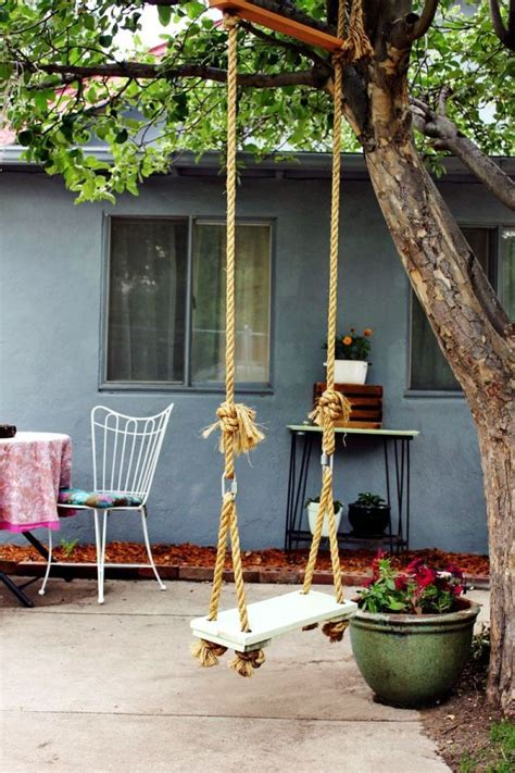 rope swing ideas how to incorporate rope into home d 233 cor 34 ideas digsdigs
