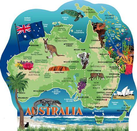 australia continent map australia map the cat s meow