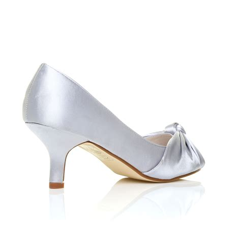 Evening Shoes by Womens Wedding Bridal Prom Shoes Low Heel