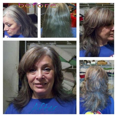grey hair hilight blend my work pinterest grey hair hair gray blending highlights to blend the gray my hair