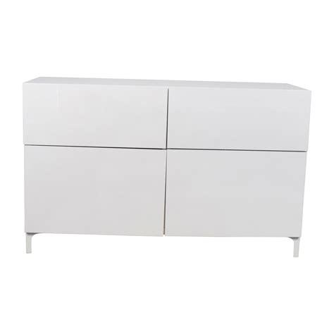 65% OFF   IKEA IKEA Besta White Cabinet / Storage
