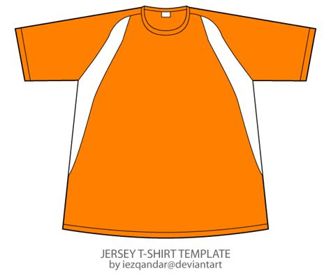 Vector Jersey T shirt Template   123Freevectors