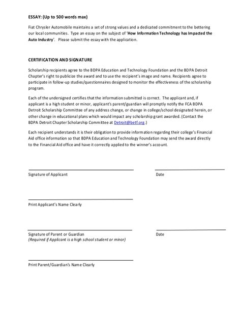 follow up letter for scholarship application 6 follow up to scholarship application primary write