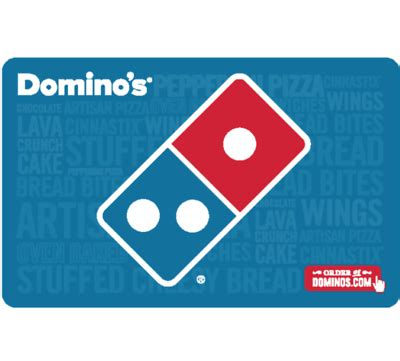 domino pizza email 50 domino s pizza gift card email delivery slickdeals net