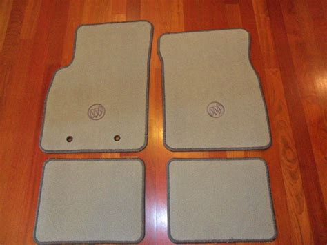 Buick Lucerne Floor Mats by New Carpeted Floor Mats Titanium For Buick Lucerne