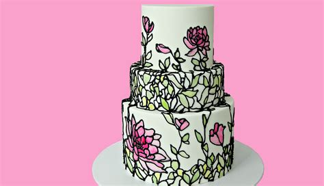 Cake Style by Stained Glass Cake Cake Style