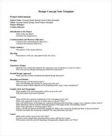 concept note template for project 9 concept note templates free sle exle format