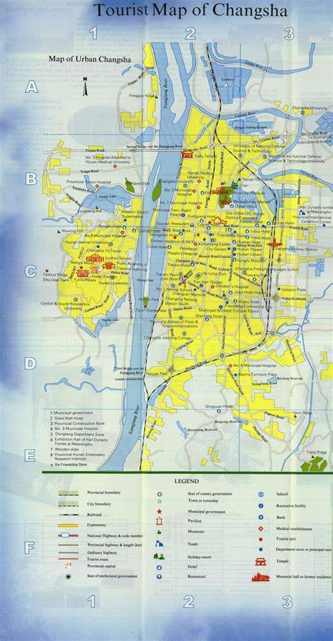 Changsha Map, Map of Changsha China, Changsha City ...