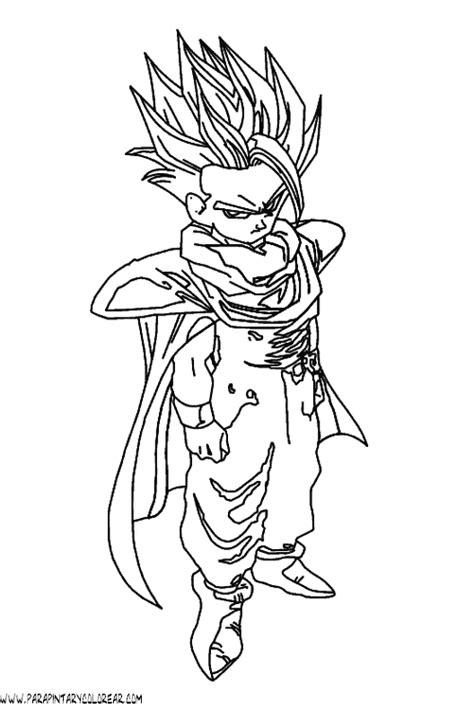 imagenes para pintar de dragon ball z dibujos para colorear de dragon ball z 031