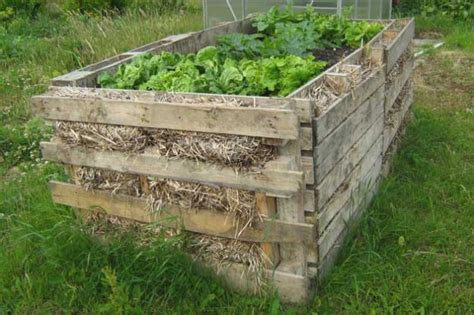 pallet raised bed 25 diy ideas using pallets for raised garden beds snappy