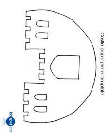 Printable Castle Template by Puppet Paper Plate Puppet Theatre Puppets