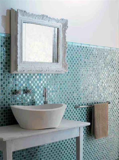 mosaic tile ideas for bathroom glass mosaic tile