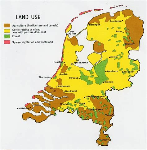 nationmaster maps of netherlands 19 in total