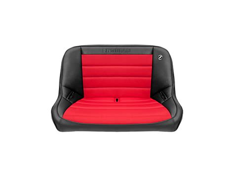 corbeau bench seat corbeau 40 inch baja bench suspension seat in black vinyl