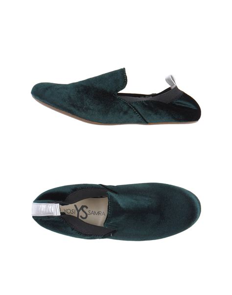 yosi samra loafer in green lyst