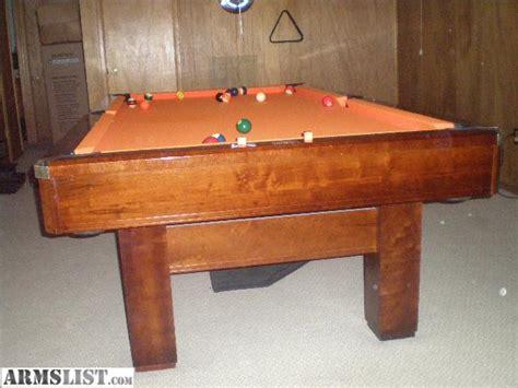 brunswick 3 slate pool table armslist for sale trade brunswick 3 slate table