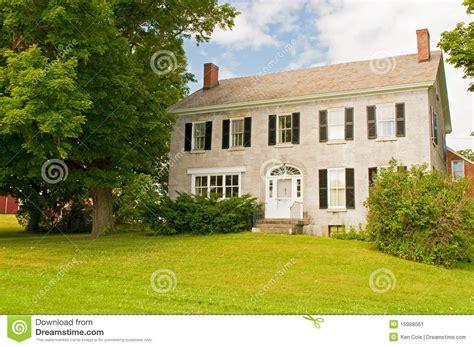 vermont farmhouse vermont farmhouse stock image image 15388061