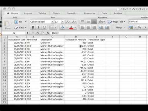 csv format xero how to format bank activity in excel csv to import into