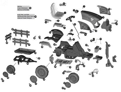 ih parts diagrams peg perego ih magnum tractor parts
