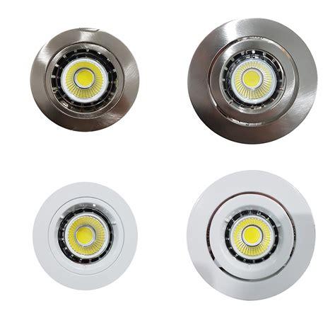 Downlight Led 6watt 6 Watt Gu10 Recessed Cob Led Dimmable Downlight Kit Gu10
