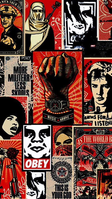 wallpaper iphone 6 obey 72 best images about iphone backgrounds on pinterest