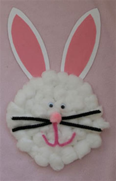 Bunny Paper Plate Craft - paper plate easter bunny family crafts